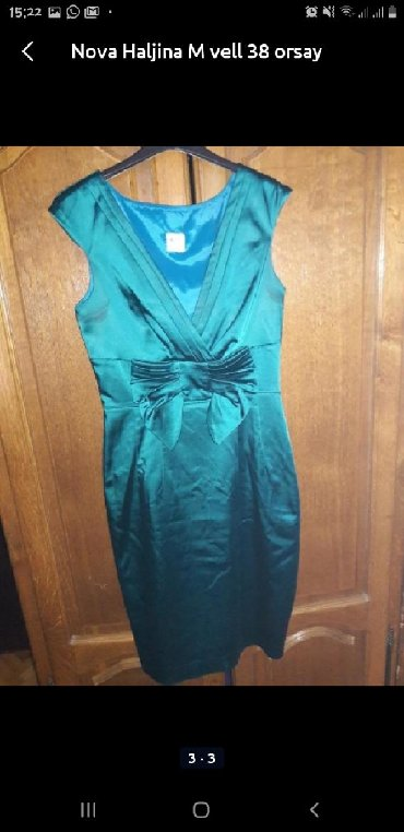 Nova orsay haljina sa dekolteom veoma lepa L vell ima i malo elastina - Novi Pazar