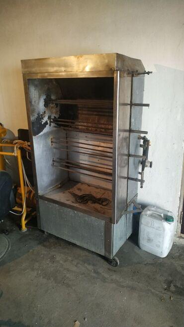Гриль аппарат Заводская материал прочный (Мотор есть нужен ремонт) И