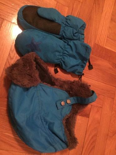 Kapa i rukavice za ekstra kvalite nepromocivo kapa je sa krznom - Novi Pazar