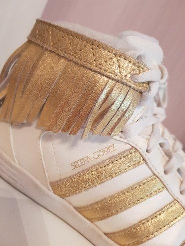 Adidas Neo duboke  kožne patike sa resama SELENA GOMEZ br.38 - Palic