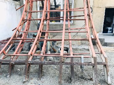 арматура-цена-в-оше в Кыргызстан: Арка готовый 2 по 2,5м =5м ширина  Длина 6 м (цена договорная) общая п