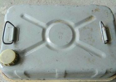 Продаю железную канистру для бензина! 40 л. 600 с. в Бишкек