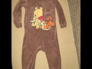 Pidžama za dečake DIZNY 86 vel 86  12-18 meseci VINY POO na kopčanje - Paracin