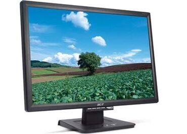 Мониторы - Кыргызстан: Продаю монитор Acer Al2216W, Состояние отличное! макс. разрешение