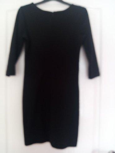 Crna pamucna haljinica vel.M - Loznica