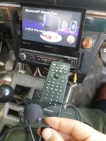 Avtomobil elektronikası - Azərbaycan: PIONEER AVH 4850 BT. Ustunde bahali pultu birdeki mikrafonu verilir