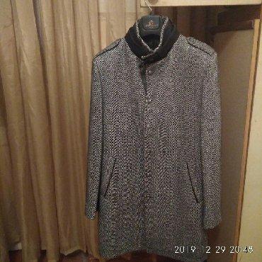 Пальто - Бишкек: Продаю очень стильное мужское пальто, в отличном состоянии хорошо