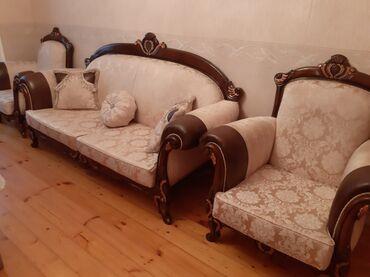 диван и 2 кресла в Азербайджан: Комплекты диван и кресло | Другой тип дивана | 2 кресла