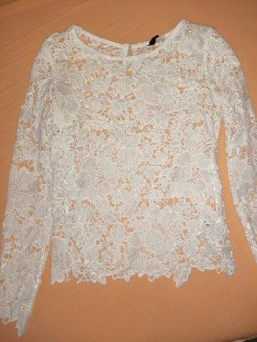 Majica-dug - Srbija: Prelepa majca dugih rukava. Jednom obučena. Veličina XS manji S. Nema