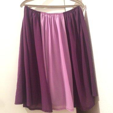 dezodorant aloje vera в Кыргызстан: Летняя юбка от vera moda, цвет сиреневый, размер s, можно одевать на в
