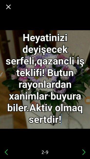 İş - Azərbaycan: Marketoloq. İstənilən yaş. Natamam iş günü. Xəzər r-nu