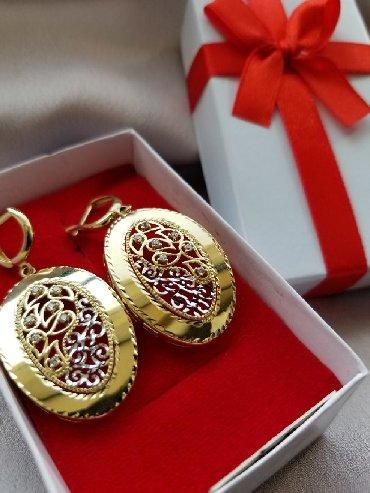 595 проба в Кыргызстан: Продаю новые золотые серьги 585° пробы из жёлтого золота. Эксклюзив