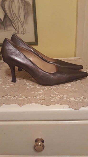 Nove srebrno sive cipele. 40