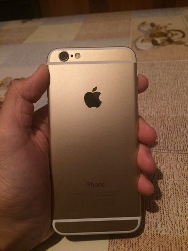 Айфон 6 голд 64 гб ЕАС чистый оригинал! в отличном состоянии! обмен на σε Чон-Сары-Ой