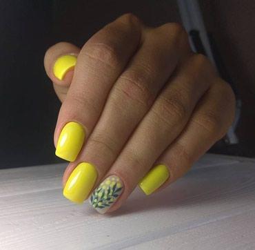 шеллак маникюр наращивание ногтей в Кыргызстан: Маникюр шеллак 500сомманикюр шеллак наращивание ногтей 700сомдизайны