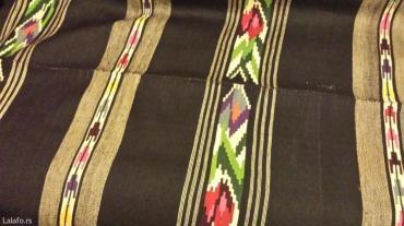 Prodajem  sumadijski ručno tkan vuneni  ćilim iz 1908 godine, bojen - Belgrade