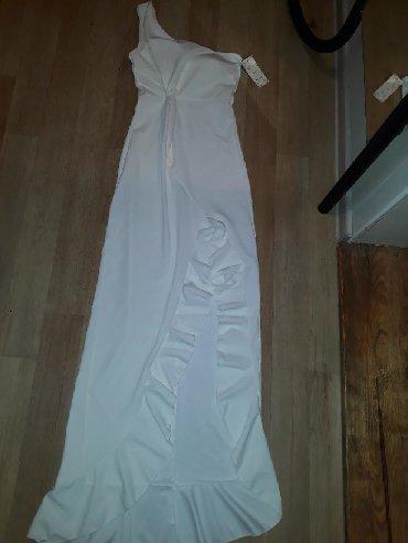 Duga svečana haljina,na jedno rame M vel.●NOVO●