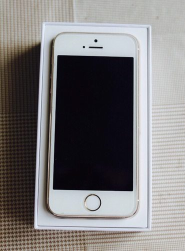 IPhone 5S 16Gb Gold Apple в Бишкек
