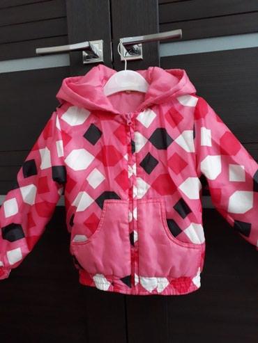 Детская куртка на осень-весну.Очень лёгкая и качественная.На 5-6лет в Бишкек