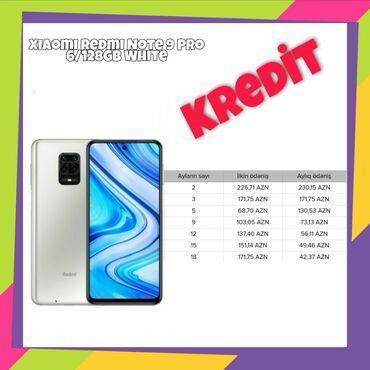 xiaomi redmi 4 pro в Азербайджан: Новый Xiaomi Note 9 Pro 128 ГБ Белый