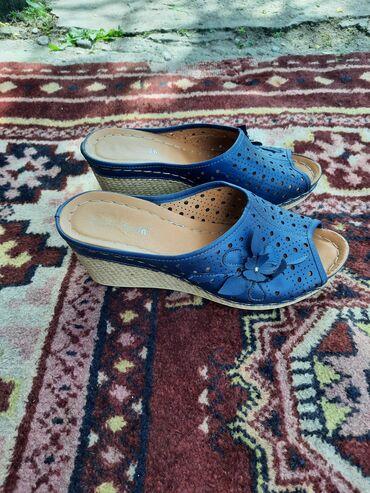 Личные вещи - Чон-Далы: Продаю очень удобные летние туфли,на не высоком каблуке