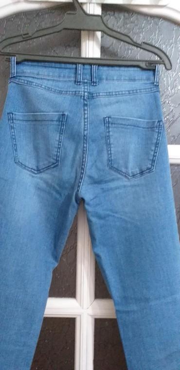 джинсовый корсет в Кыргызстан: Джинсовые брюки в отличном состоянии, р. 42-44