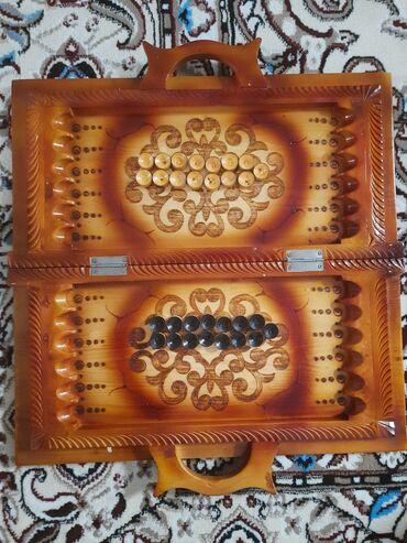 дом из сруба бишкек цена в Кыргызстан: Новый игровой нардо ни кто ещё не играл дома стоит, не заводской ручно