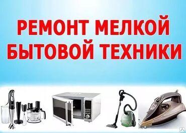 Специалист по ремонту мелкой бытовой техники в г.Бишкек.Цена