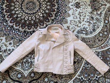 odin raz odevala na vypusknoj в Кыргызстан: Продаю кожаную куртку! Размер S