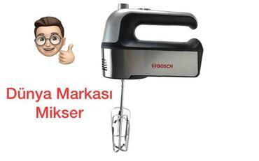 Blenderlər, kombaynlar, mikserlər Azərbaycanda: Bosch mikser keyfiyetin super   Tesla elektronics   Qiymet #32.azn