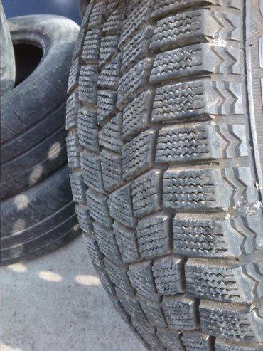 Продам одно Зимнее колесо липучка размер 205/60/r16 Вместе с диском, р в Бишкек