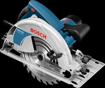 Bosch GKS 85 prof Почему именно этот инструмент?Надежный двигатель