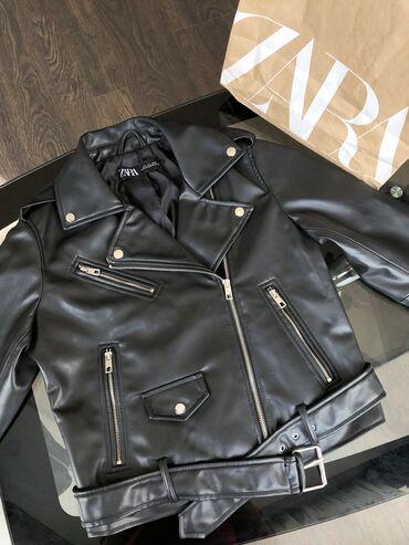 женские куртки в бишкеке в Кыргызстан: Новая куртка Zara,размер L,привезённая со Стамбула (не подошёл размер)