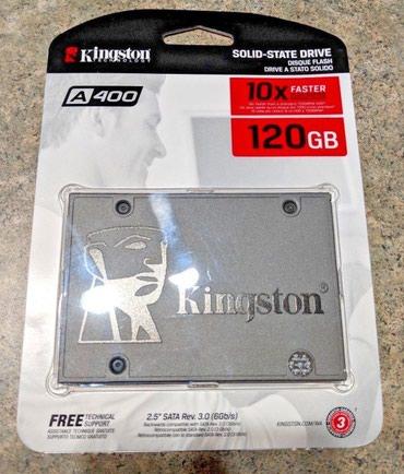 SSD Kingstone 120GB. Новые в упаковке. в Бишкек