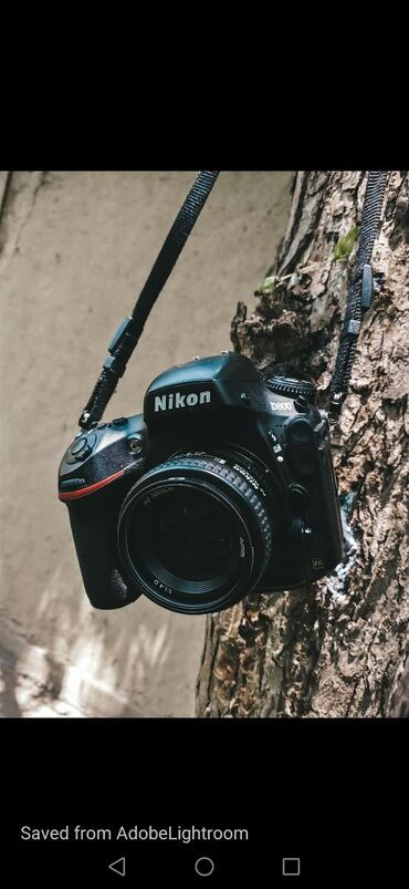 Фотоаппараты в Исфана: Продаю зеркальный фотоаппарат Nikon d800 с двумя объективами и вспышка