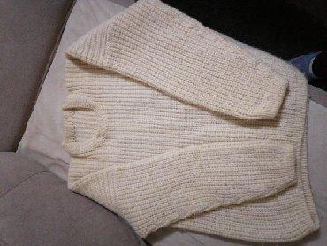 Muška odeća | Kovacica: Vuneni dzemper, rucni radjen.duzina 68,sirina 56 cm