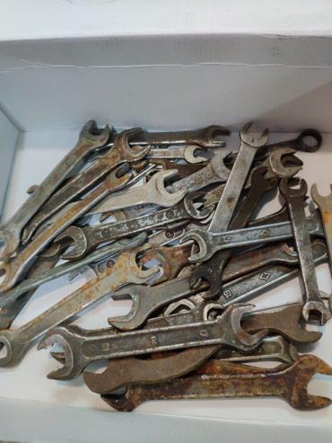 Инструменты для авто в Бишкек: Продаются ключи 1 штука 50 сом.Ключи советские.Цена окончательная.6
