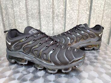 Muske patike nike - Srbija: Nike Vapormax Plus Skroz Crne-NOVO-Vietnamske-Prelepe!   Patike su izu