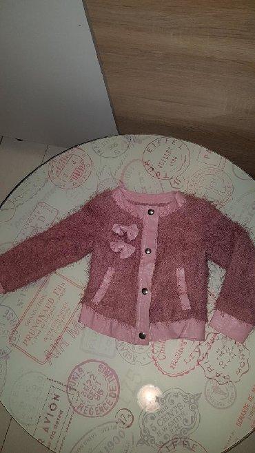 Dečije jakne i kaputi | Paracin: Bundica za damice prelepa sa masnicom malo nosena kvalitetna velicina