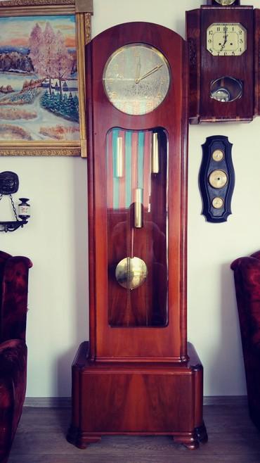 Антикварные часы в Лебединовка: Часы напольные ссср редкие 1958 г.корпуси орех