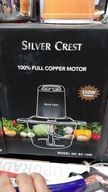 Xırdalan şəhərində BLENDIR SILVER CREST demir şesdirnalri ve almaz bicaqlara malikdir
