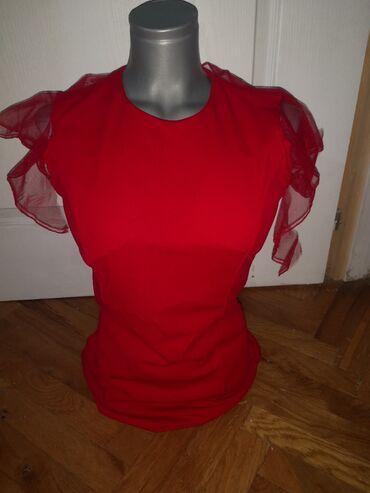 Duks haljina - Crvenka: Crvena haljina nova ne koriscena velicina s-m