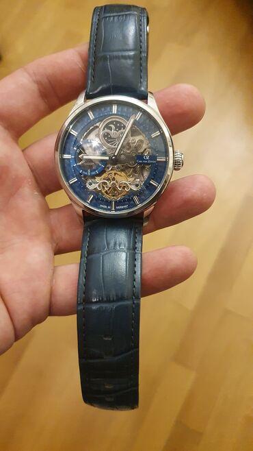 Original CARL VON ZEYTEN saati satilir. Az islenib.qol hereketi ile