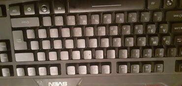 sven 51 в Кыргызстан: Продаю игровую мембраную клавиатуру sven Коробка есть