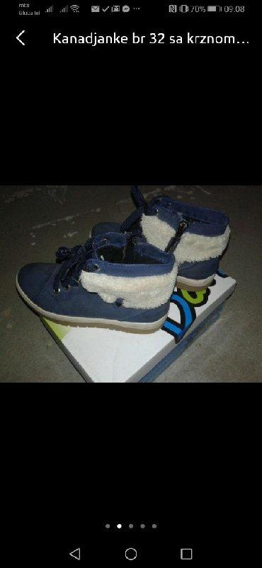 Dečija odeća i obuća - Nis: Cipele zimske br 32 kao Nove Nekoliko pita obuvene
