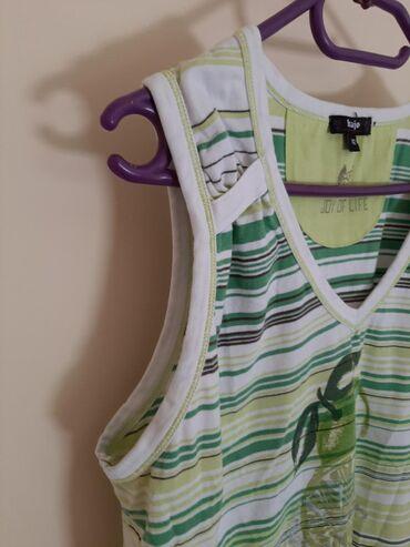 Hajo majica limun vel 42 Na pruge zelene i žute. Deblje bratele