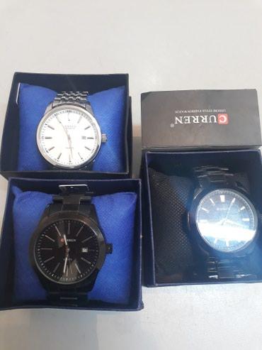 Мужские Белые Классические Наручные часы Curren в Бишкек