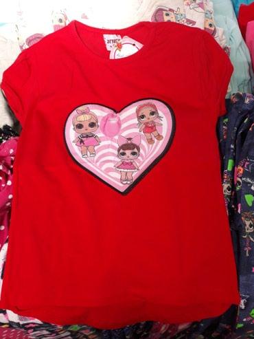 Dečija odeća i obuća | Novi Sad: Svetleće Lol majice za devojčice, veličine 3-4, 4-5, 5-6, 6-7 i 7-8
