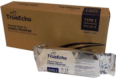 бу-принтеры в Кыргызстан: Бумага для принтера УЗИTrue Echo TE-110s. Форма: рулонРазмер: 110мм *
