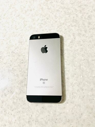чехол iphone se в Азербайджан: Б/У iPhone SE 16 ГБ Серый (Space Gray)